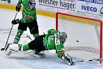 Hokejisté Mladé Boleslavi na svém ledě prohráli s Vítkovicemi 1:2.