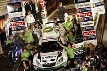 Pilot vozu Škoda je mistrem Evropy