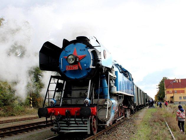 Takzvaná lokomotiva Papoušek.