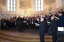 Před třemi lety vystupoval sbor Boleslav společně s Ještědem z Liberce.