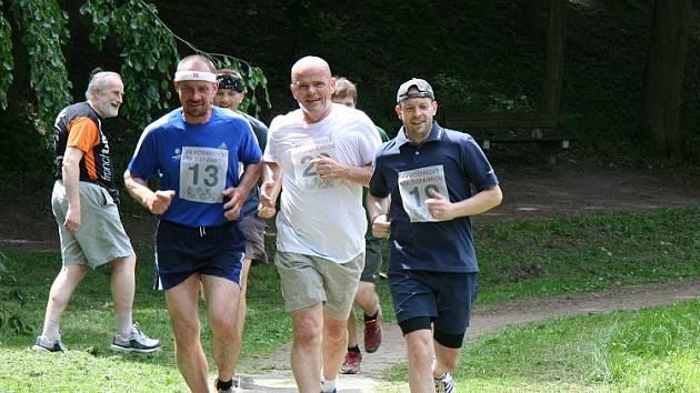 Čtyřiadvacetihodinový závod v běhu na Štěpánce.