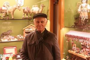 Z Muzea hraček v Benátkách nad Jizerou. Na snímku Jiří Fiala.