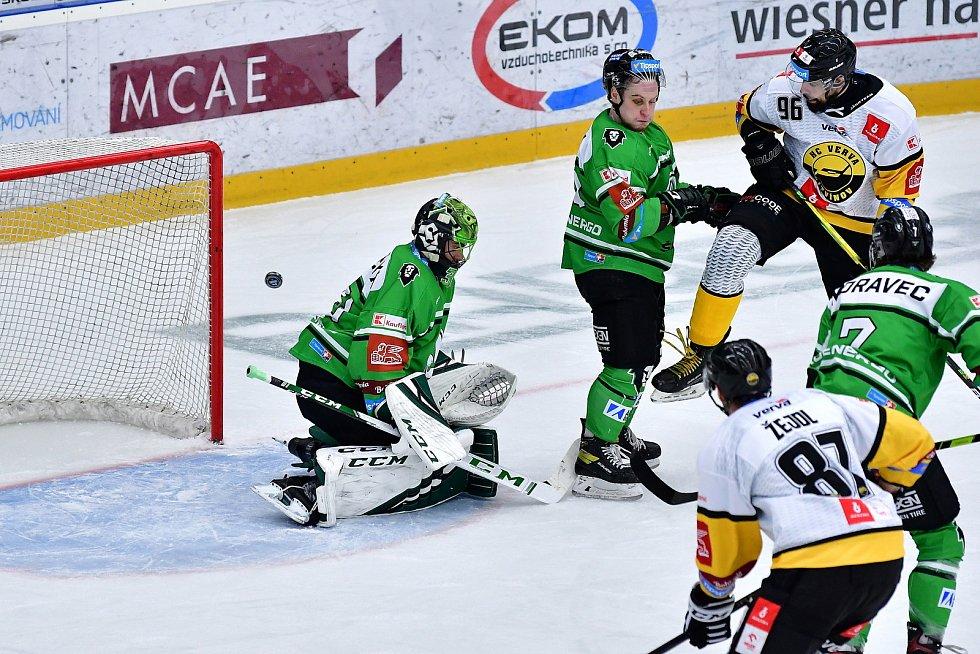 Zápas 36. kola hokejové extraligy: BK Mladá Boleslav - HC VERVA Litvínov 2:3.