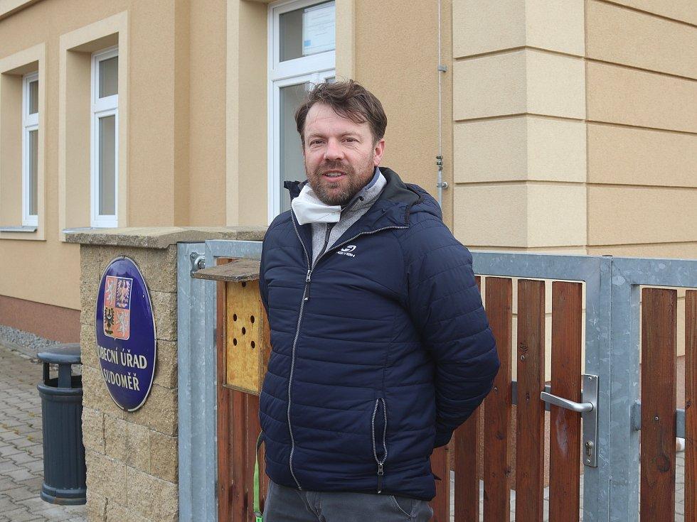 Sudoměř - starosta Jan Kroupa.