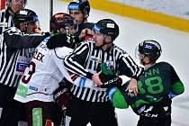 44. kolo hokejové Tipsport extraligy: BK Mladá Boleslav - HC Sparta Praha 0:1.