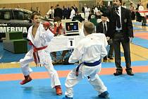 Filip Vít na Mistrovství České republiky v karate v Hodoníně