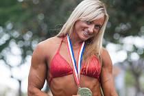 Kateřina Kyptová se stříbrnou medailí z ME