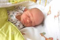 DOMINIK Netušil se narodil 12. dubna mamince Angelice a tatínkovi Josefovi. Vážil 3,4 kg a měřil 50 cm. Doma v Mladé Boleslavi se na něj těší sestřička Elenka.
