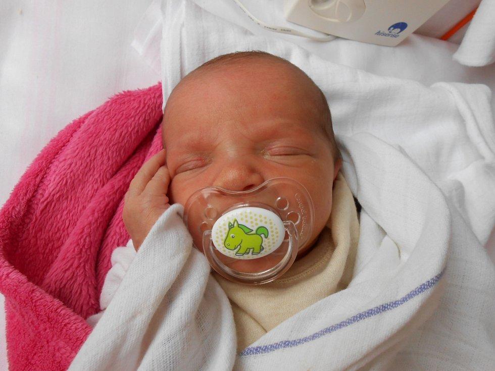 LINDA Hlavatá se narodila 30. prosince, vážila 2,96 kilogramů a měřila 47 centimetrů. Doma bude v Mladé Boleslavi s maminkou Simonou a tatínkem Romanem.