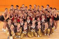 Dvojnásobné mistryně republiky z Gymnastické školy Martiny Wudyová