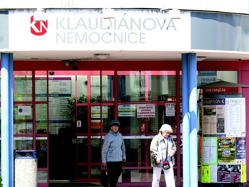 Kladudiánova nemocnice v Mladé Boleslavi
