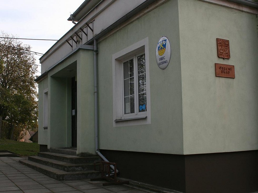 Obecní úřad v Kochánkách.