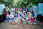 Letní tábor v Okrouhlíku.