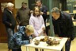 Marianna s bráškou Františkem v Muzeu Mladoboleslavska poznávali houby