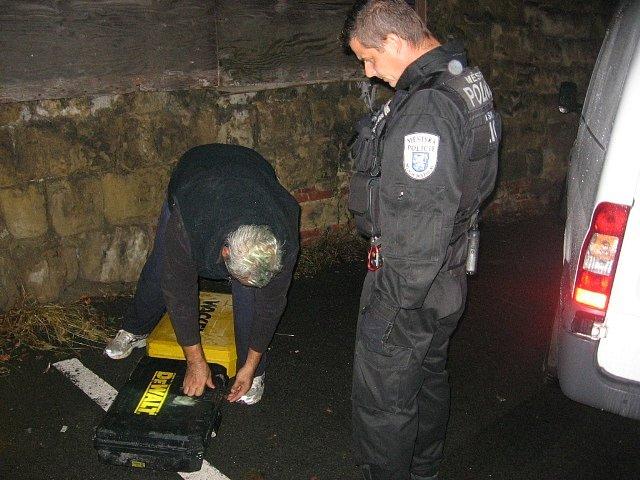 Muž kradl nářadí ze staveniště