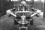 Škoda Muzeum vystavuje letecký motor z roku 1926.