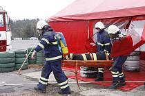 Cvičení hasičů Vrchbělá 2013