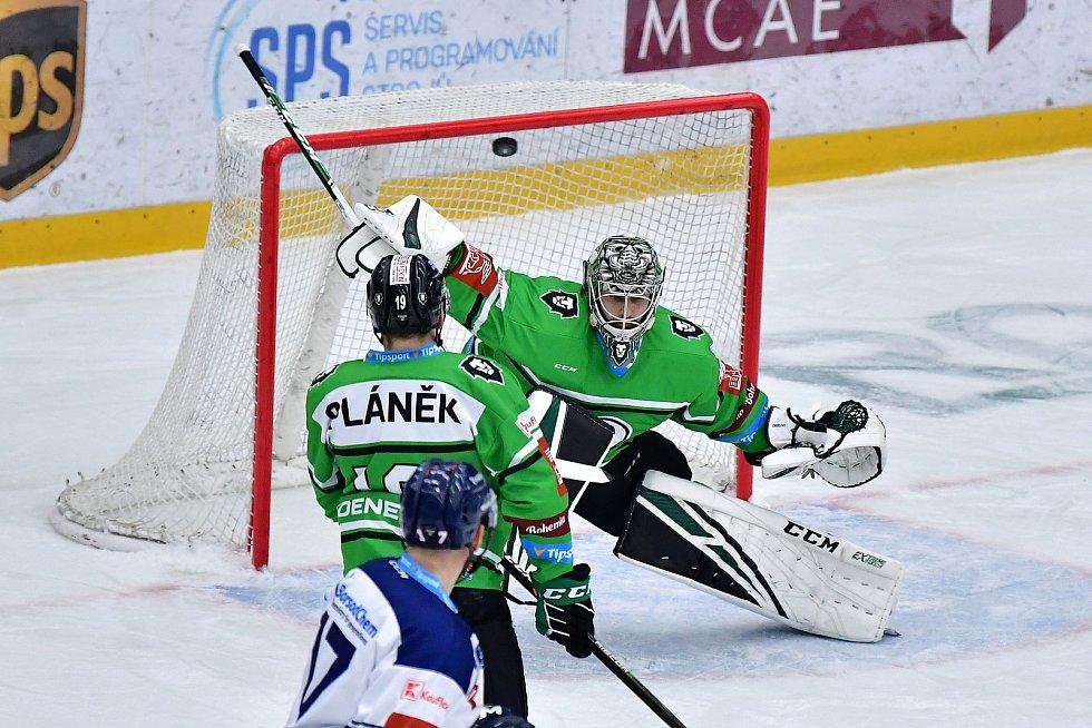 Ve 20. kole hokejové extraligy hostila Mladá Boleslav Vítkovice.