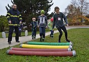 V Kosmonosech změřili své síly mladí hasiči.