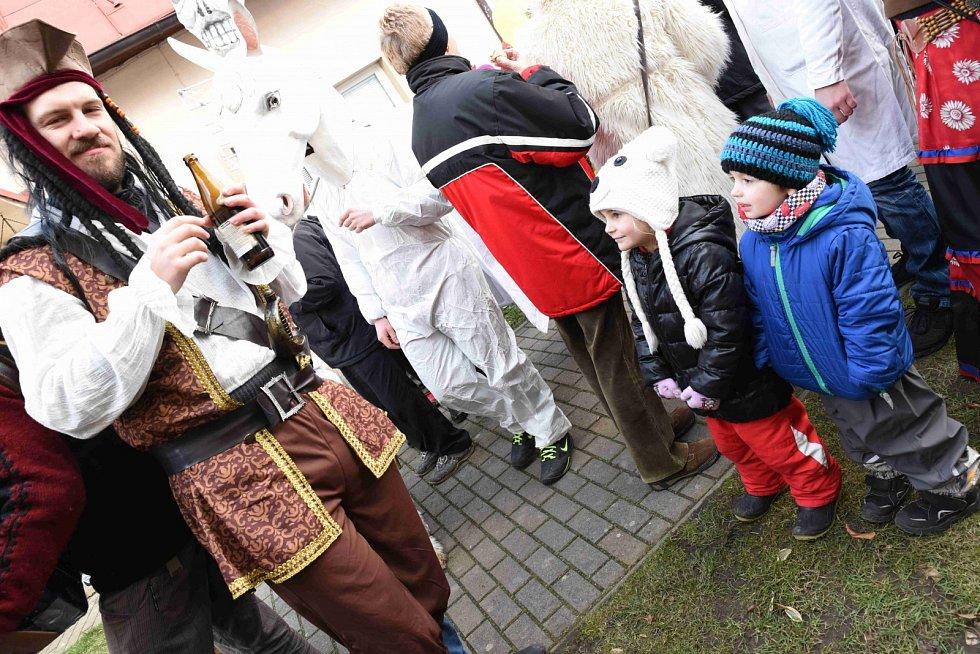 O masopust ve Veselé byl tradičně velký zájem