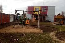 Zahrada Mateřské školy Vandrovka v Mladé Boleslavi.