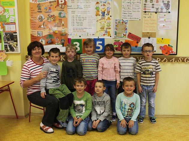 Základní škola Klášter Hradiště nad Jizerou, třídní učitelka Iva Štancíková
