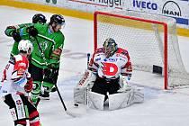 Hokejisté Mladé Boleslavi porazili na svém ledě Pardubice 5:2.