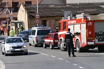Dopravní nehoda osobního auta