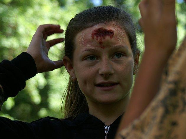 Zdravotníci ošetřovali i zranění hlavy
