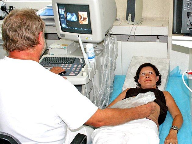 Nový ultrazvuk si pochvalují nejen maminky a jejich partneři, ale především lékaři.