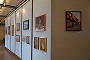Výstava obrazů v Dobrovických muzeích