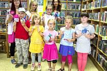 Tvořivé packy v knihovně Severní město