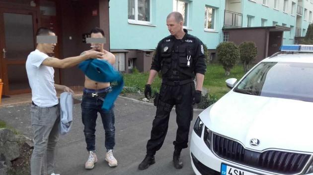 Městská policie řešila v pondělí k večeru rvačku dvou cizinců.