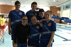 Mladí záchranáři z Mladé Boleslavi se účastnili závodů v Sokolově
