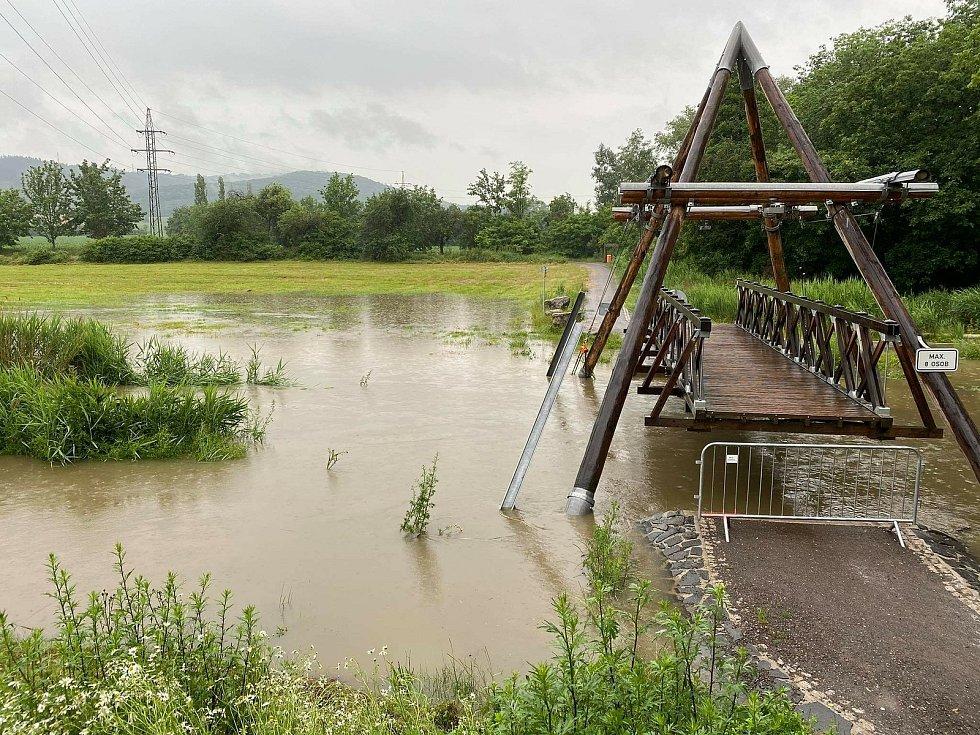 Řeky na Mladoboleslavsku přetékají.