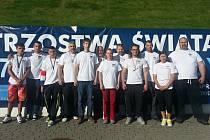 Kompletní česká výprava pákařů na mistrovství světa v polské Gdyni