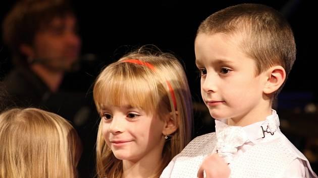 Vánoční koncert dětského pěveckého sboru Paprsek.