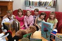 Dolnobousovská knihovna připravuje řadu programu pro školní děti