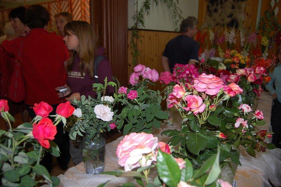 Výstava květin v Přepeřích