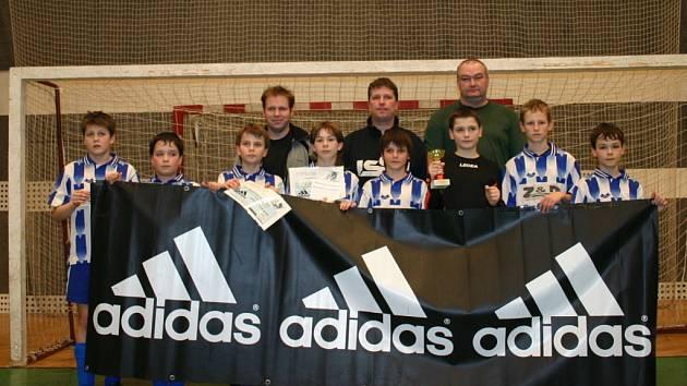 Turnaj minižáku Adidas cup