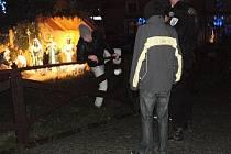 Mladý vandal se pokusil poškodit výzdobu v Mladé Boleslavi.