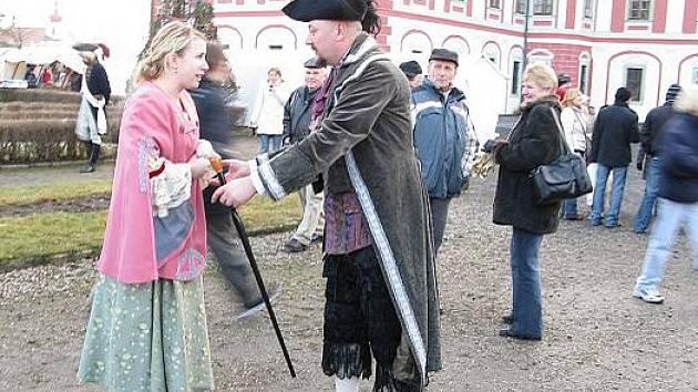 Divadýlko na dlani na zámku v Mnichově Hradišti