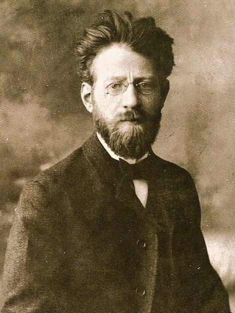 Nejznámější podobizna Františka Gellnera.