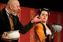 OD PREMIÉRY nové komedie Divadýlka na dlani Nebožka panina matka a Ještě jsme nekakali uběhl týden a soubor už se svou nejnovější hrou míří na krajskou přehlídku amatérského činoherního divadla do Rakovníku.