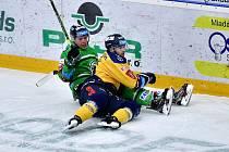 Dohrávka 6. kola hokejové extraligy mezi Mladou Boleslaví a Zlínem.