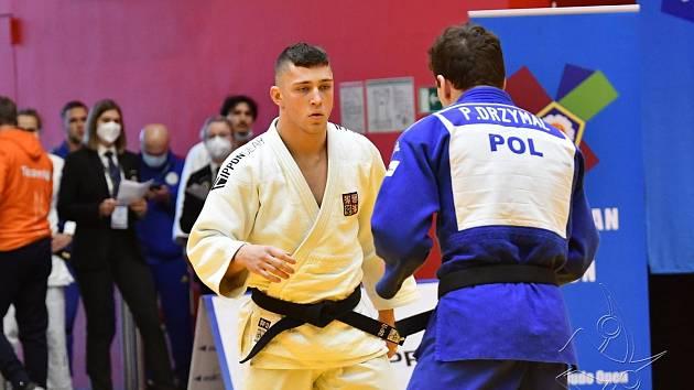 Judista Adam Kopecký získal v Praze třetí místo.