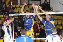 Volejbalová extraliga mužů: Ústí nad Labem - Karbo Benátky nad Jizerou