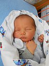 Honzík Techlovský se narodil 6. dubna, vážil 4,182 kg a měřil 52 cm. S maminku Radkou a tatínkem Jaroslavem bude bydlet v Mladé Boleslavi.