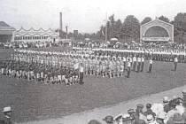 Letní cvičiště bylo slavnostně otevřeno v roce 1921.