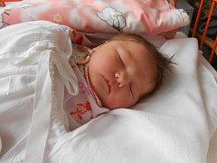 VERONIKA Tkáč se narodila 18. února. Vážila 3,3 kilogramů a měřila 49 centimetrů. S maminkou Tetyanou a tatínkem Viktorem bude bydlet v Mladé Boleslavi.